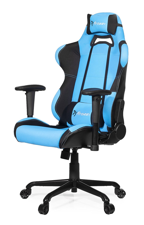 Arozzi Torretta Gaming Stuhl Hellblau Gunstig Im Angebot